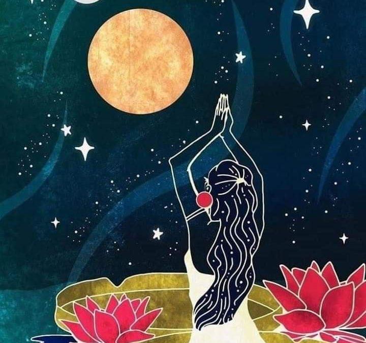 [Actu] Méditation Pleine Lune & Rencontre avec son féminin sacré